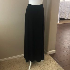 EUC! Maxi Length Skirt with Side Slit